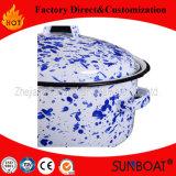 Sunboatのエナメルの在庫の鍋の中国パターンによってカスタマイズされる調理器具