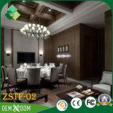 인도 현대 작풍 단단한 나무 호텔 침실 가구 (ZSTF-02)