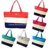 Bolsos de los bolsos de totalizador del mensajero del hombro de la playa de la lona de las señoras para el bolso del recorrido