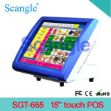 """ 15 Touch Screen Mini-PC für Positions-Terminal-Maschine"