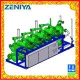 Unidad de condensación del compresor del tornillo con el condensador evaporativo