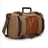 Sac de toile de cru de sac à dos d'élèves de sacoche pour ordinateur portable d'ordinateur de sac à dos