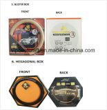De goedkope Dekking van het Stuurwiel van de Auto van het Leer van pvc