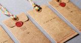 Bonne étiquette bien projetée de coup de texture pour le vêtement ou d'autres produits