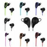 Rq8軽量の低音の携帯用スポーツのSweatproofの耳の無線Bluetoothのヘッドホーン