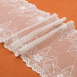 Fashion Allover Floral Polyester Water Soluble Designer Lace in White