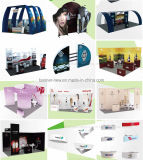 Стойка выставки ткани напряжения портативная, стойка индикации, торговая выставка (KM-BSZ19)