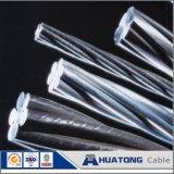 Heißer eingetauchter galvanisierter Stahldraht-Kern für ACSR, Spanndraht, Stütze-Draht