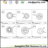 Радиатор профиля CNC Гуанчжоу Zhilv подвергая механической обработке алюминиевый