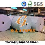 Double papier enduit latéral blanc élevé en emballage de bobine