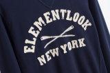Del fornitore di abitudine nuovo disegno il più in ritardo senza maglietta felpata di Crewneck del Mens del cappuccio