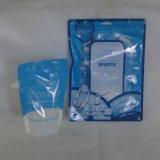 Bolso plástico respetuoso del medio ambiente de la cremallera/del canalón con diseño modificado para requisitos particulares