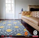 Tapete acrílico antiderrapante Home contemporâneo Tufted dos tapetes de área da decoração da mão