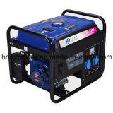 冷却される6kw Hy6500t 15HPガソリン発電機の空気