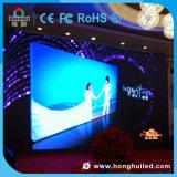 결혼식을%s HD P3.91 P6.25 발광 다이오드 표시 스크린