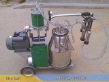 完了しなさい牛バケツの搾乳器(真空Pump+SSのミルクタンク、パルセーター、爪クラスタ、ホース)を