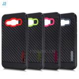 Kohlenstoff-Faser-Telefon-Kästen für Kasten der Samsung-Galaxie-J2