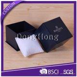 Reloj del papel de calidad superior que empaqueta el rectángulo de regalo rígido