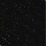 Tuile Polished de porcelaine de vente de bonne des prix charge en cristal chaude de noir double