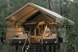 호화스러운 휴일 수용량 천막 사는 나무로 되는 집