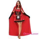 Fiaba Three-Piece poco costume rosso