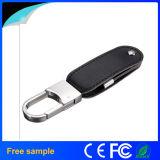 Freier Speicher-Stock des Stich-Firmenzeichen-Druck-Leder-USB2.0 mit Keychain
