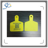 농기구 동물성 ID 플라스틱 가축 귀 꼬리표