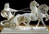 Sculpture en granit d'état/de marbre de découpage en pierre de marbre en char