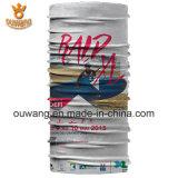 Bandanas Multifunction do motociclista de Microfiber do lenço da garganta