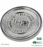 형식 기념품 금속 동전 원형 금속 오래된 금화를 위한 오래된 짜개진 조각 동전