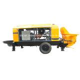 Remorque portative diesel de pompe concrète