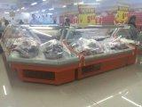 Xuzhou Used Supermarket Butchery Shop Geladeira de carne