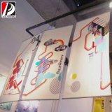 Affiche suspendue en vinyle Panneau suspendu en polyester (HAN-01)