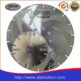 Le découpage de diamant d'Od250mm et le meulage scie la lame pour en céramique