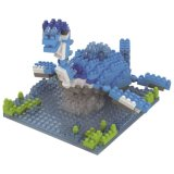 os blocos da série do dinossauro do jogo do bloco 14889330-Micro ajustaram o brinquedo educacional creativo 280PCS de DIY - Brachiosaurus