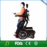 ثقيلة - واجب رسم فولاذ [إلكتريك بوور] كرسيّ ذو عجلات يقف فوق