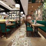 Tuile de décoration glacée par art pour le carrelage de mur 600*600 millimètre pour la décoration Sh6h001/02 d'hôtel de restaurant de pièce de café
