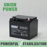 Batterie d'acide de plomb solaire du système AGM de Solor de qualité de la batterie 12V40ah