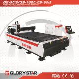 tagliatrice del laser della fibra del metallo dell'acciaio inossidabile 500W