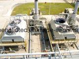 Centrale électrique, condensateur de construction Drycooler d'utilisation