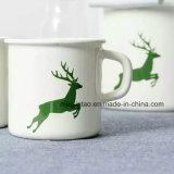 Taza popular del esmalte del regalo, taza que acampa, taza de café, Enamelware