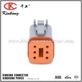 Разъемы провода штепсельной вилки автомобиля штепсельной вилки дороги Dt06-6s 6 женские автоматические