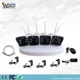 Venta caliente 4chs P2p 720 / 1080P / cámara IP en tiempo real D1 de alta calidad NVR Network Video Recorder