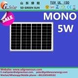 18V 5W Monosolarbaugruppe für Kleinsystem 12V