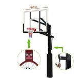 Soporte derecho libre ajustable del baloncesto de la en-Tierra de la altura para la venta