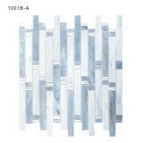 Light and Thin Backsplash Azulejo de vidrio transparente Mosaico de pared de injerto