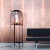 Lâmpada de assoalho extravagante de vidro de Decotative da lâmpada de assoalho da forma para a luz do assoalho da sala de visitas