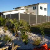 Cercado compuesto conveniente reciclable del jardín de la instalación WPC