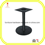 Ferro fundido Round Disk Style Pedestal Table Leg Base para Bar Height Black