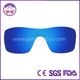 100%UV Anti-Rayent et enduit de l'Anti-Eau coupant les lentilles de finition de lunettes de soleil